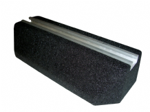Rubber Mounting Block with channel